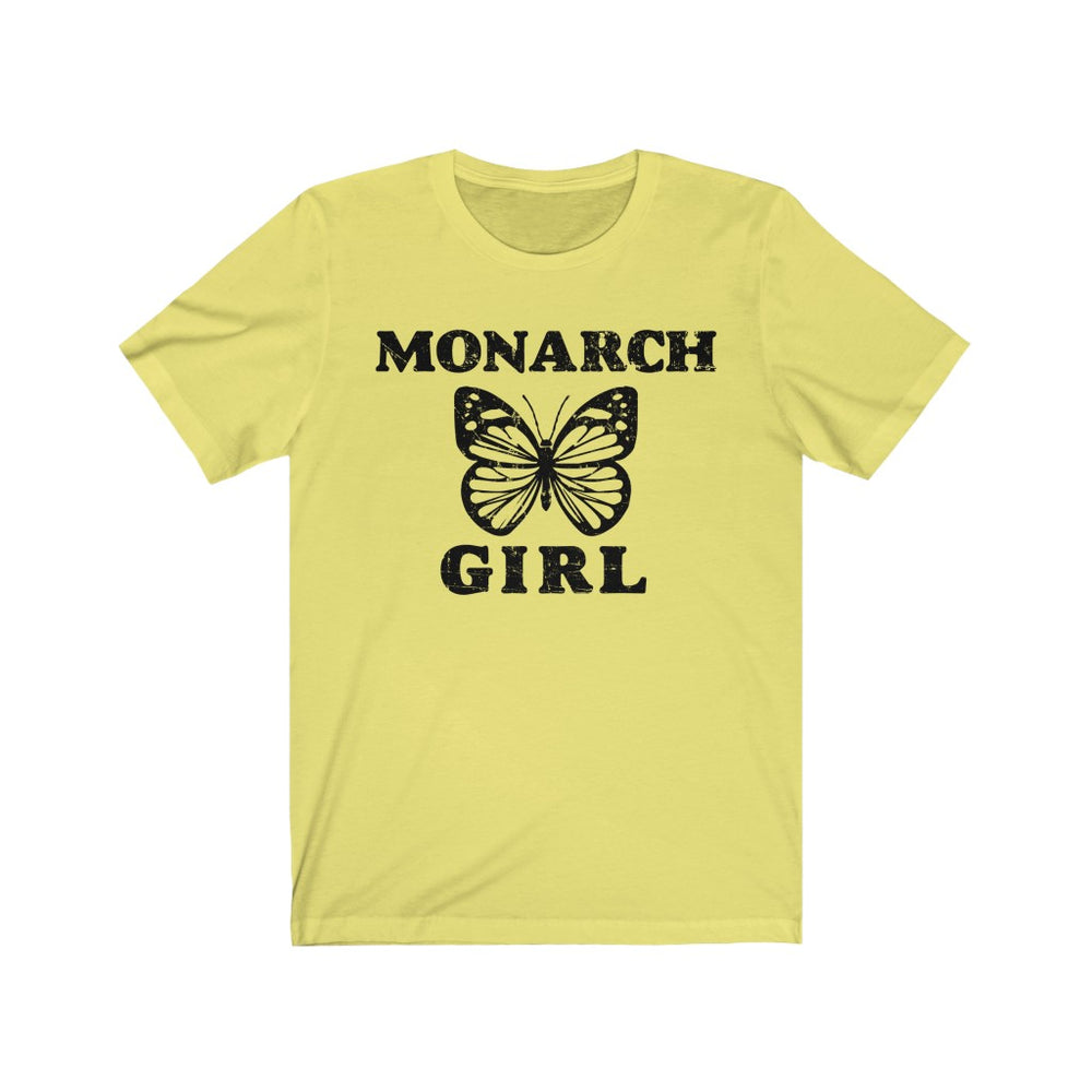 (Soft Unisex Bella) Monarch Butterfly Girl