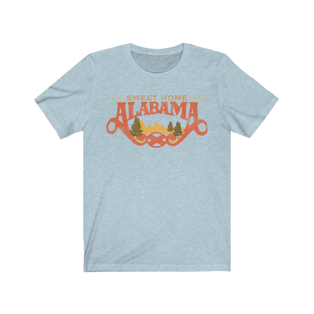 (Soft Unisex Bella) Sweet Home Alabama | Iconic State Tee T-Shirt