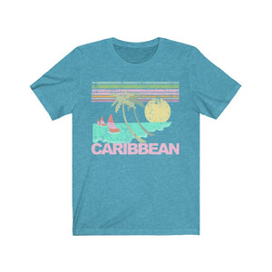 (Soft Unisex Bella) Caribbean - Iconic World Destinations