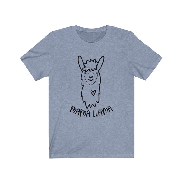 (Soft Unisex Bella - other colors) Mama Llama Love