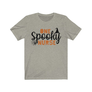 (Soft Unisex Bella) One Spooky Nurse