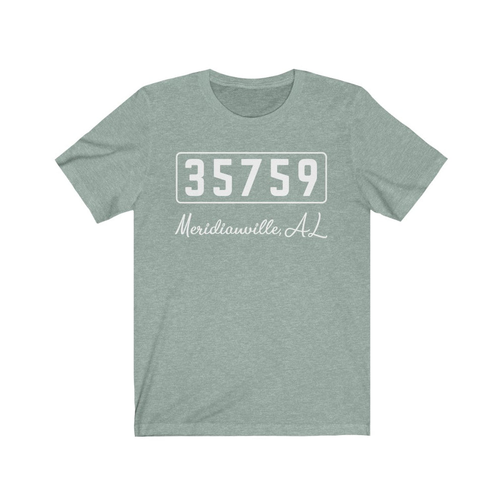 (Soft Unisex Bella) Zipcode City Name -	Meridianville	AL 35759