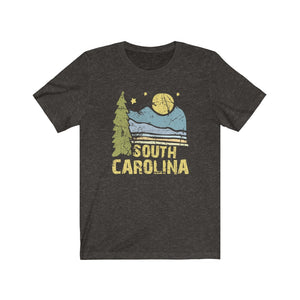 (Soft Unisex Bella) South Carolina Night