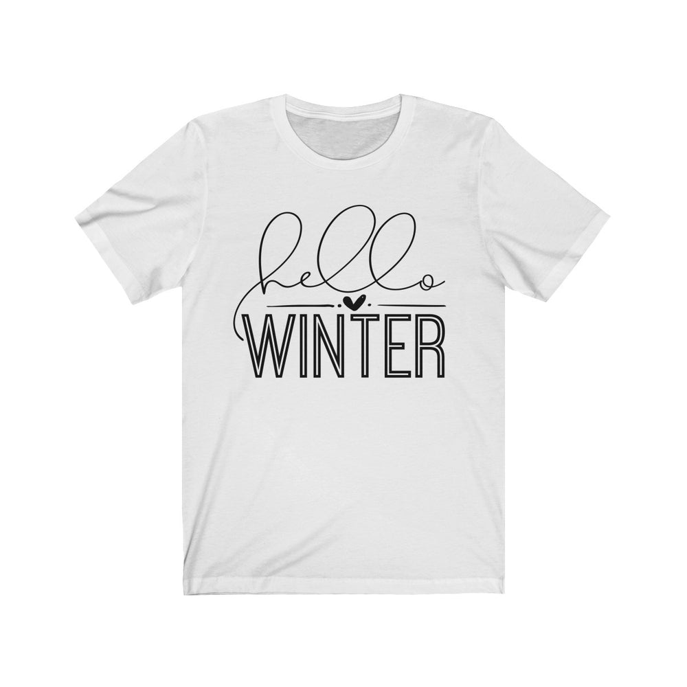 (Soft Unisex Bella) Hello Winter
