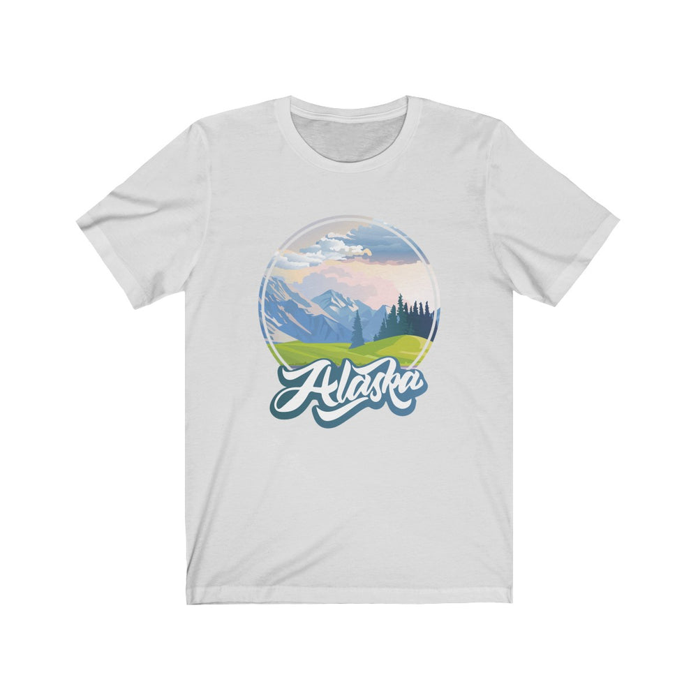 (Soft Unisex Bella) Iconic State Graphic Tee - Alaska