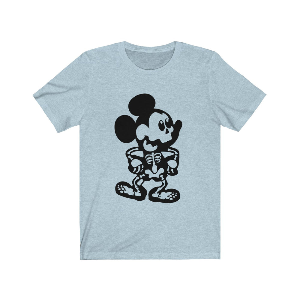 (Soft Unisex Bella) Skeleton Mouse Halloween