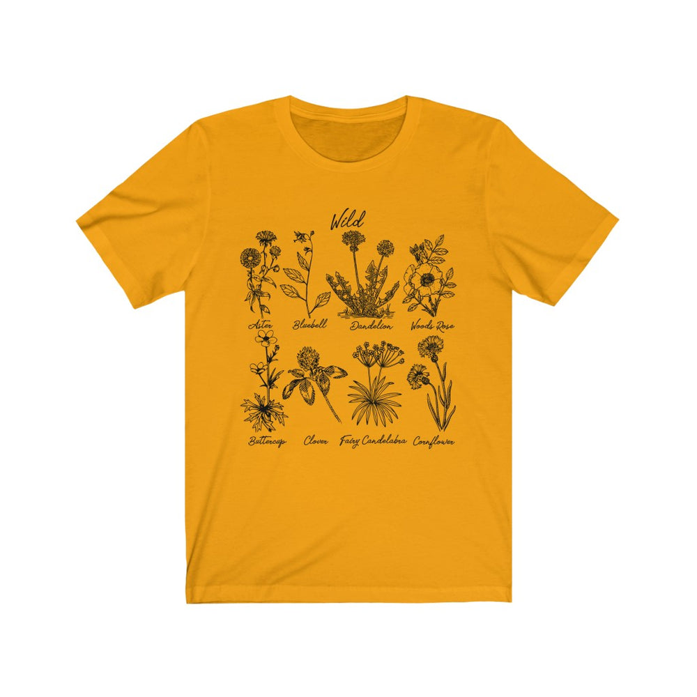 (Soft Unisex Bella) Wild Flowers