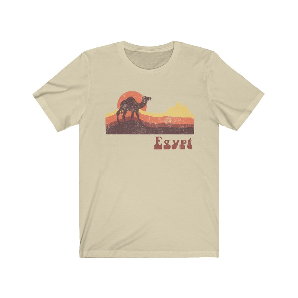 (Soft Unisex Bella) Egypt Camel Desert- Iconic World Destinations