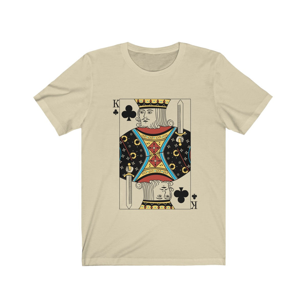 (Soft Unisex Bella) Playing Cards Costume - King of Clubs