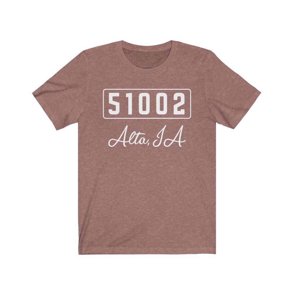 Copy of (Soft Unisex Bella) Zipcode City Name - Alta IA 51002