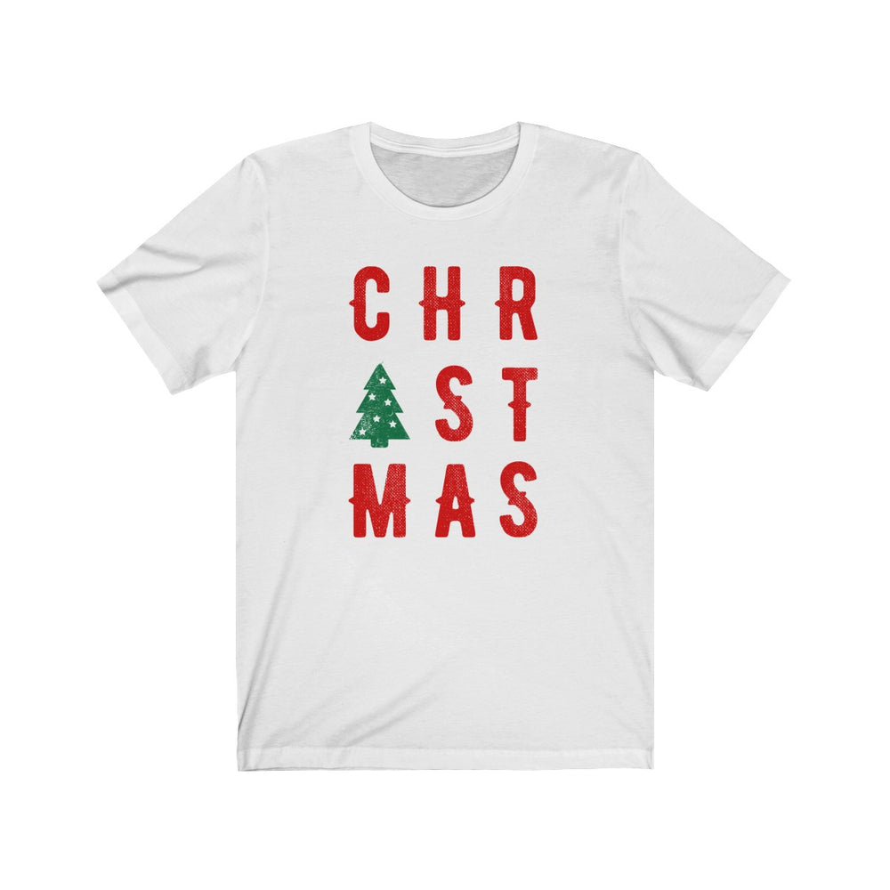 (Soft Unisex Bella) Christmas Tree Saying
