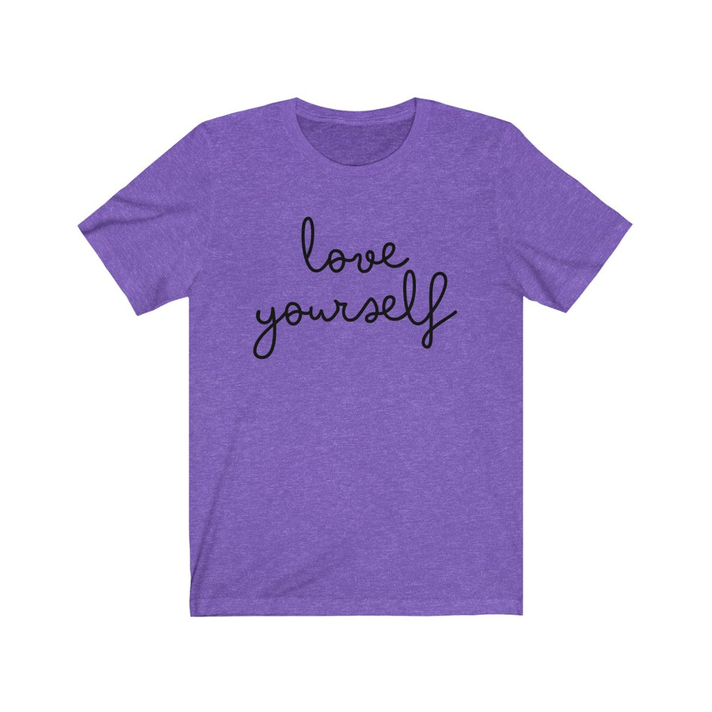 (Soft Unisex Bella) love yourself - Humani-tees (humanity)