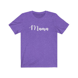 (Soft Unisex Bella) mama (white)