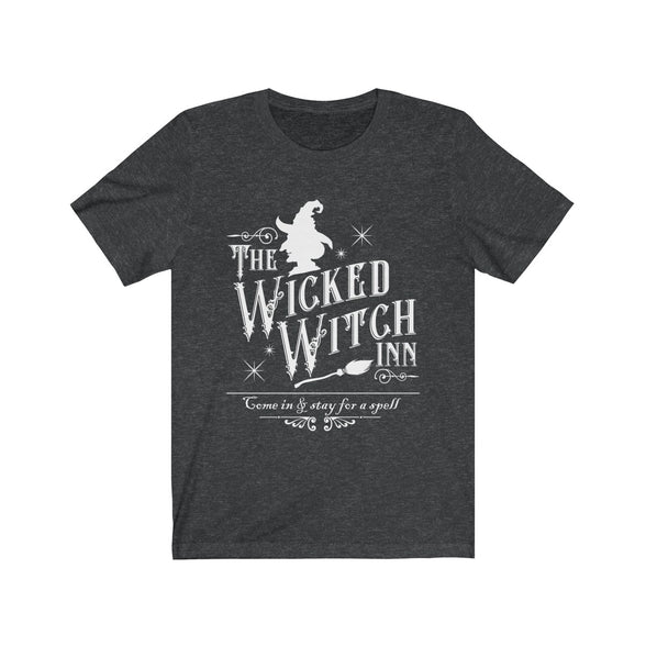 (Soft Unisex Bella) The Wicked Witch Inn-T-Shirt-Ellas-Canvas-DesIndie