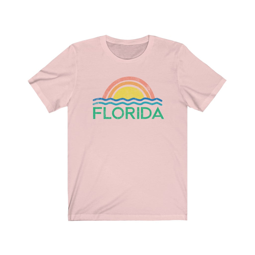 (Soft Unisex Bella) Florida Ocean | Iconic State Tee T-Shirt