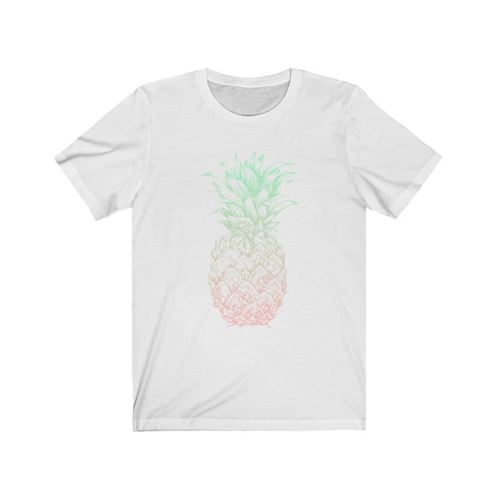 (Soft Unisex Bella) Pineapple Pastel