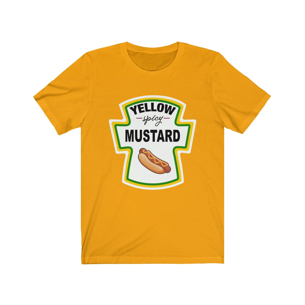 (Soft Unisex Bella) Condiment Costume - Mustard