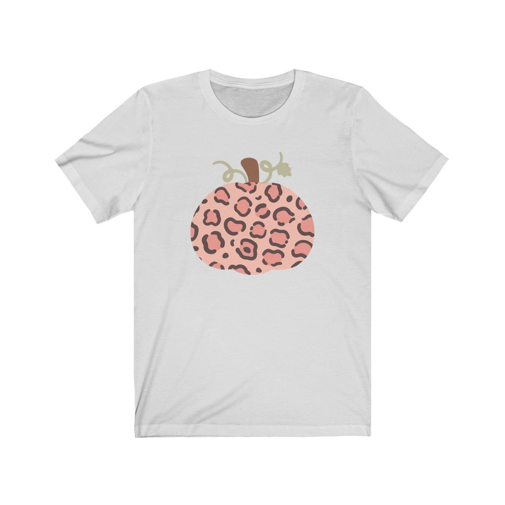 (Soft Unisex Bella) Pumpkin Leopard Pattern Fall