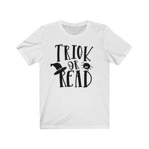 (Soft Unisex Bella) Trick or Read