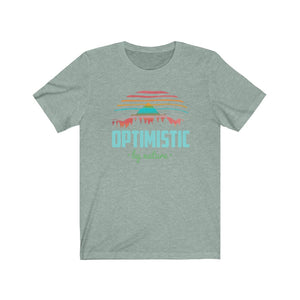 (Soft Unisex Bella) Optimistic by Nature | Iconic State Tee T-Shirt