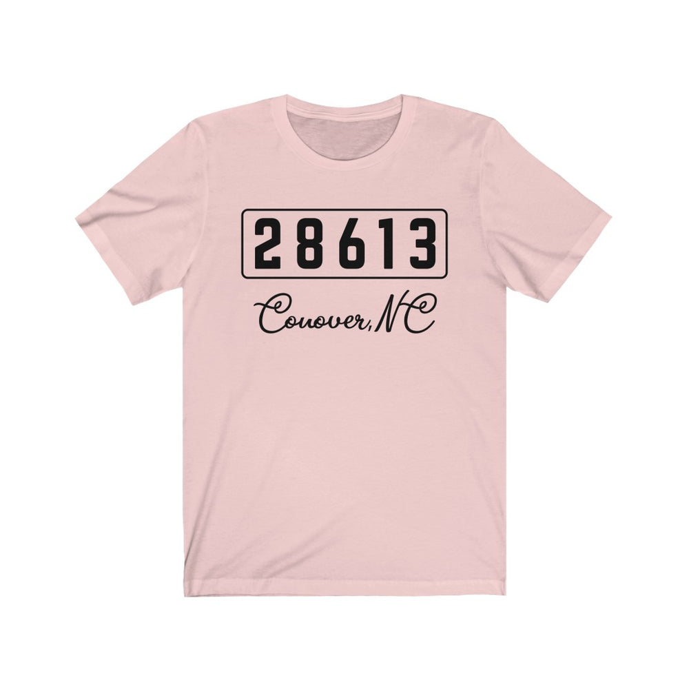 (Soft Unisex Bella) Zipcode City Name - Conover, NC 28613