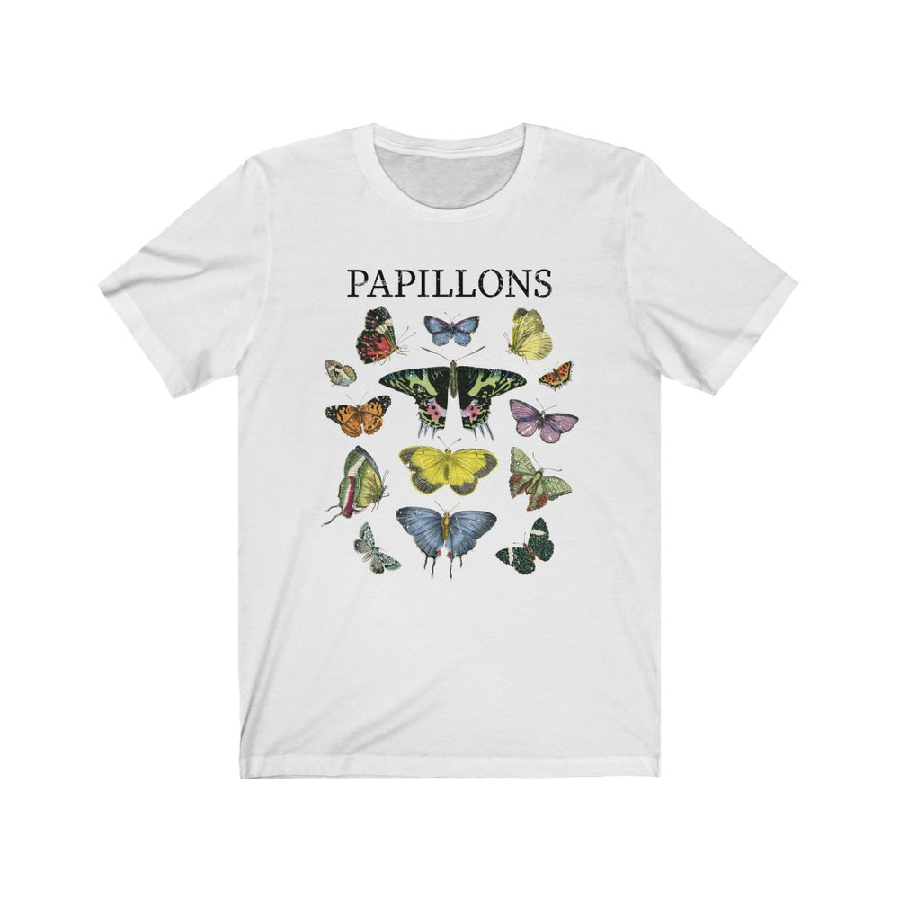 (Soft Unisex Bella) Monarch Butterfly Papillons Chart