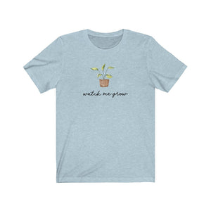 (Soft Unisex Bella) Watch Me Grow Potted Plant