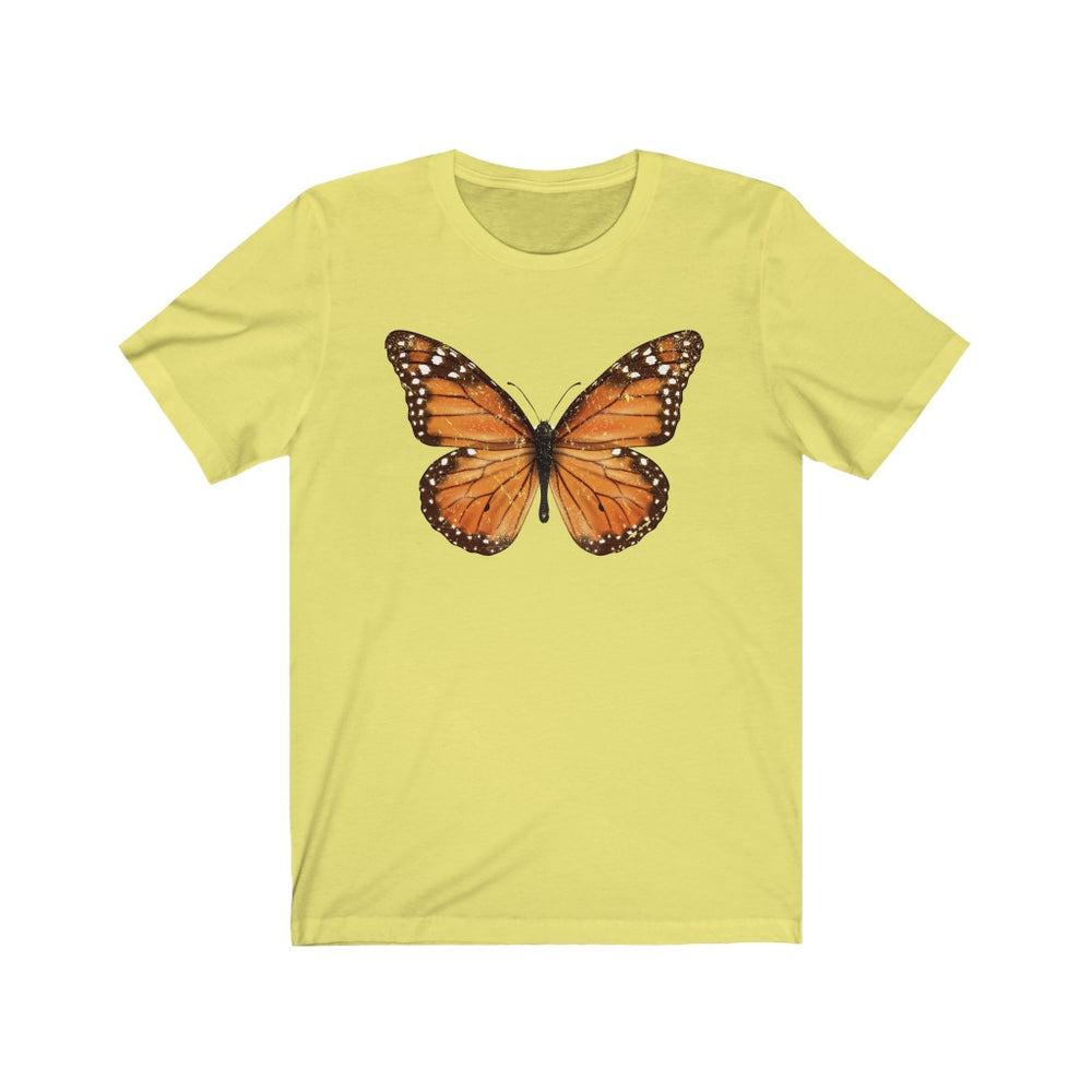 (Soft Unisex Bella) Monarch Butterfly