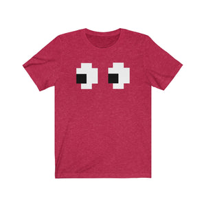 (Soft Unisex Bella) Retro Gamer Ghost Eyes