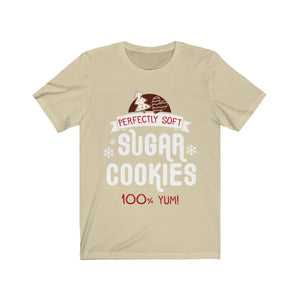 (Soft Unisex Bella) Matching Holiday Goodies - Sugar Cookies