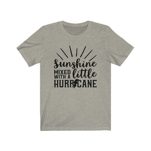 (Soft Unisex Bella) Sunshine mixed with a little hurricane