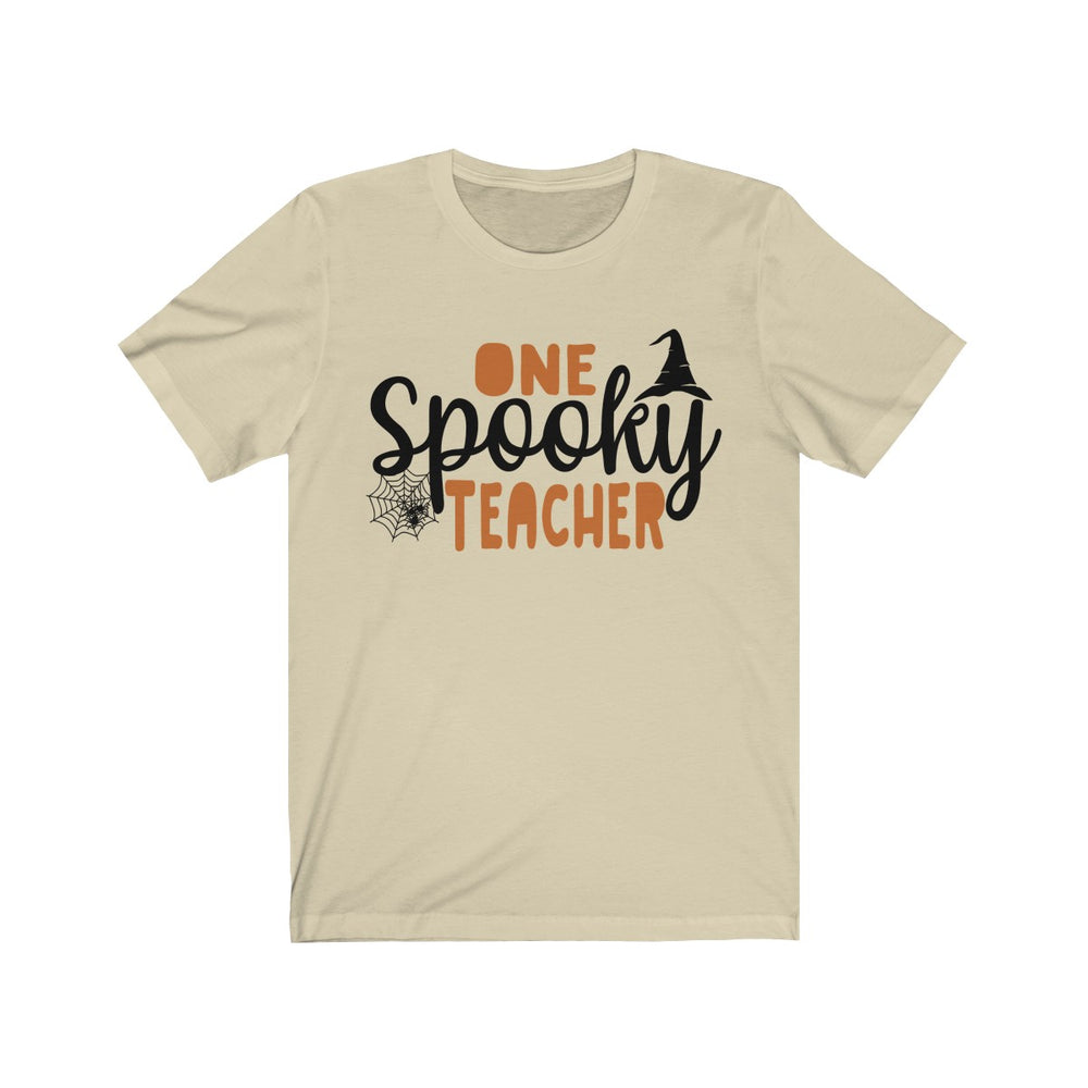 (Soft Unisex Bella) One Spooky Teacher