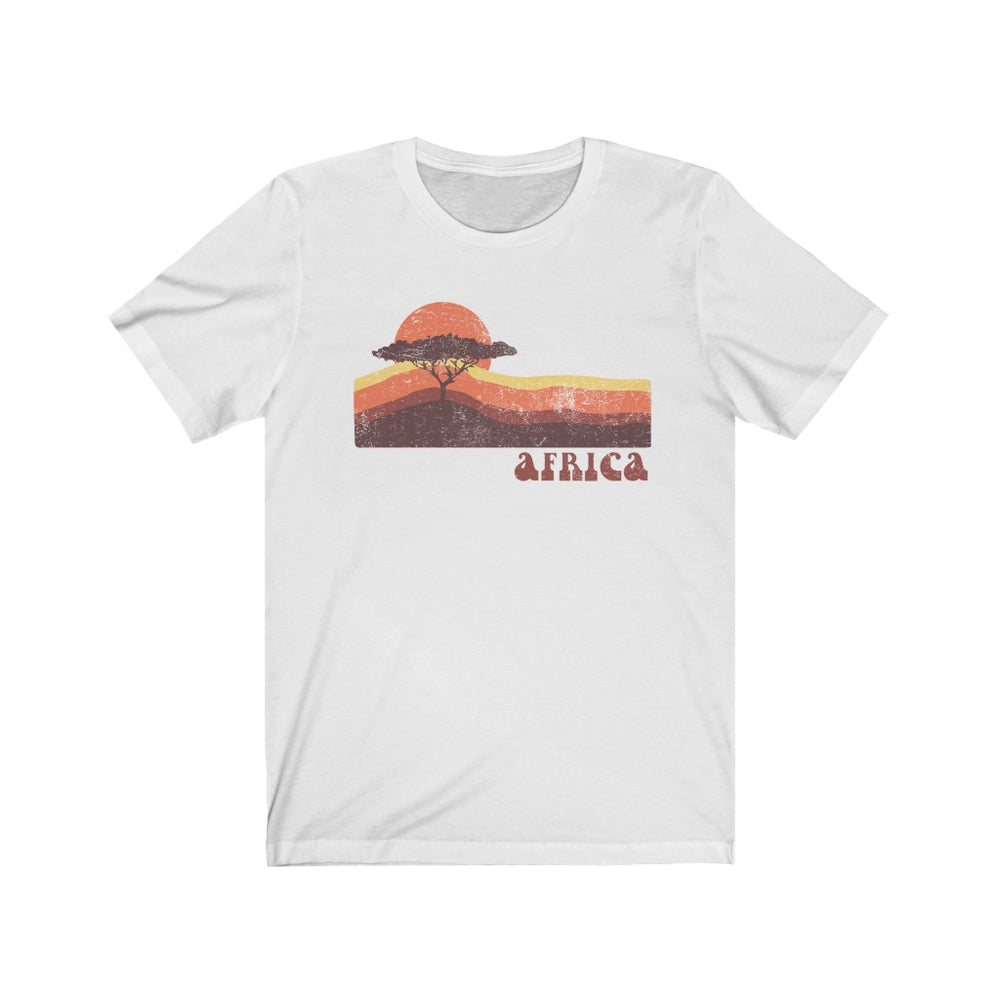 (Soft Unisex Bella) African Sunset Africa - Iconic World Destinations