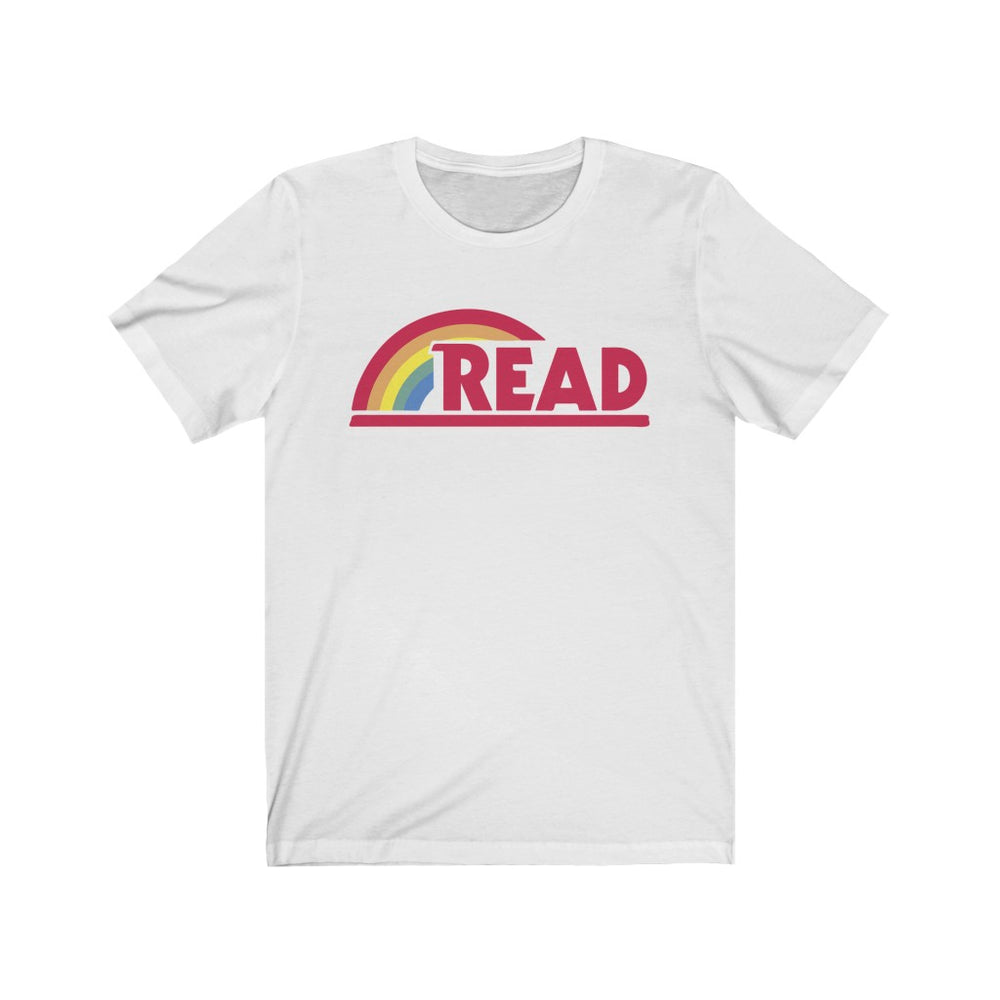 (Soft Unisex Bella) Reading Rainbow Parody Read Teacher Books