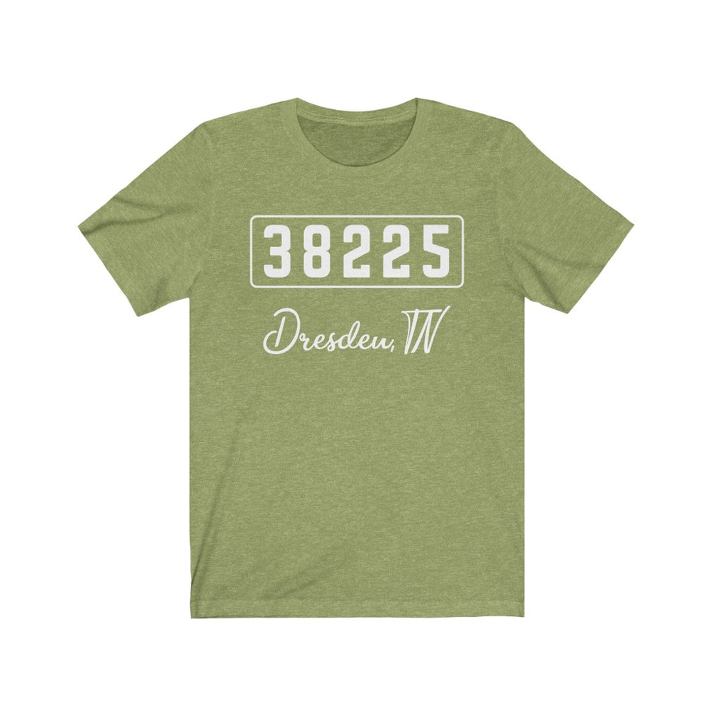 (Soft Unisex Bella) Zipcode City Name - Dresden TN 38225