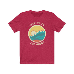 (Soft Unisex Bella) Take Me to The Ocean | Iconic State Tee T-Shirt
