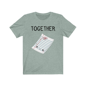 (Soft Unisex Bella) We Belong Together Matching Sets - Paper