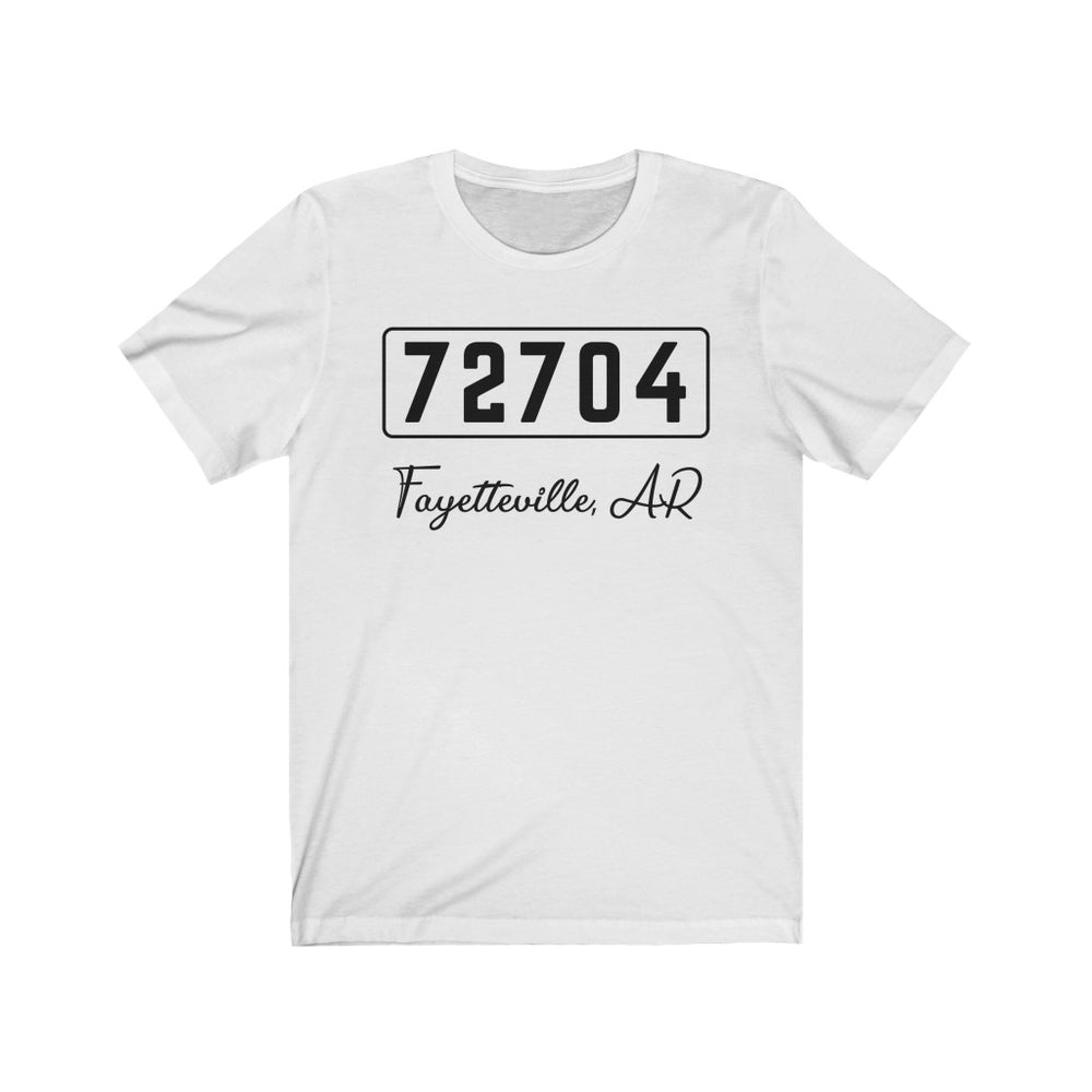 (Soft Unisex Bella) Zipcode City Name - Fayetteville, AR 72704