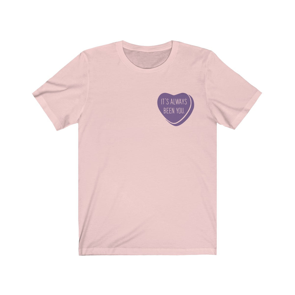 (Soft Unisex Bella) Corner Valentine's Heart - It's Always Been You