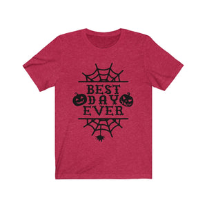 (Soft Unisex Bella) Best Day Ever - Halloween-T-Shirt-Ellas-Canvas-DesIndie