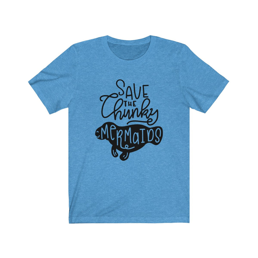 (Soft Unisex Bella) Save the Chunky Mermaids Funny Animals