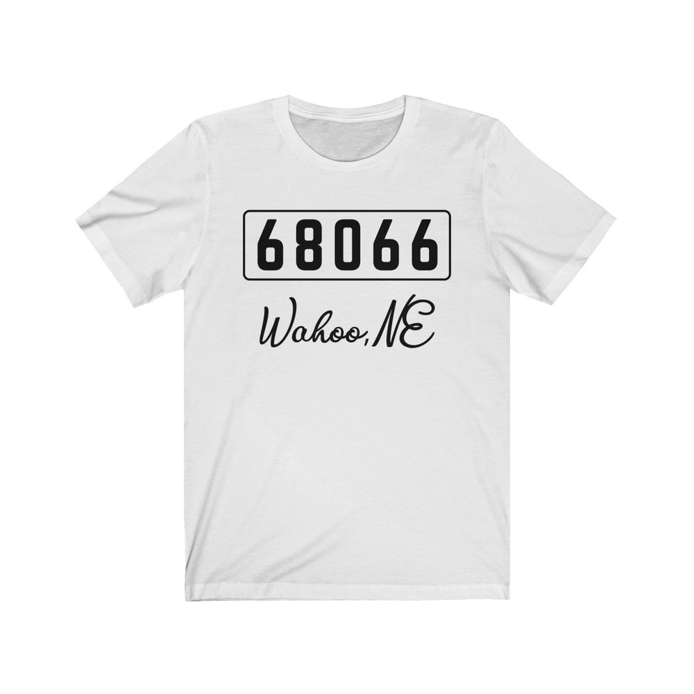 (Soft Unisex Bella) Zipcode City Name -  Wahoo, NE 68066