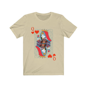 (Soft Unisex Bella) Queen of Hearts