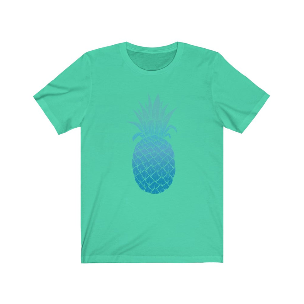 (Soft Unisex Bella) Blues Pineapple