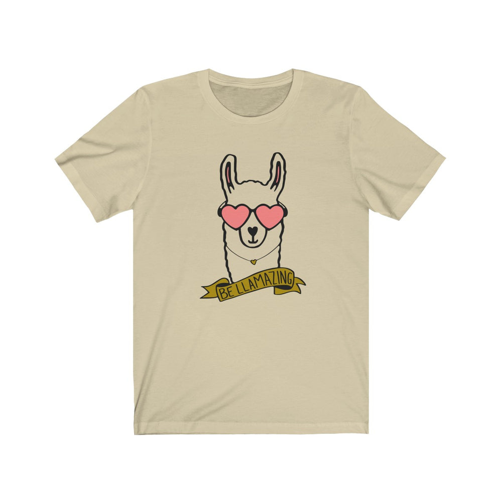 (Soft Unisex Bella - Other Colors) Be Llamazing Llama Love