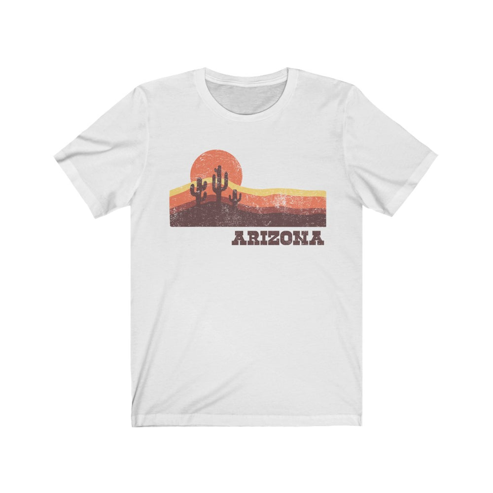 (Soft Unisex Bella) Arizona Scenic Sunset | Iconic State Tee T-Shirt
