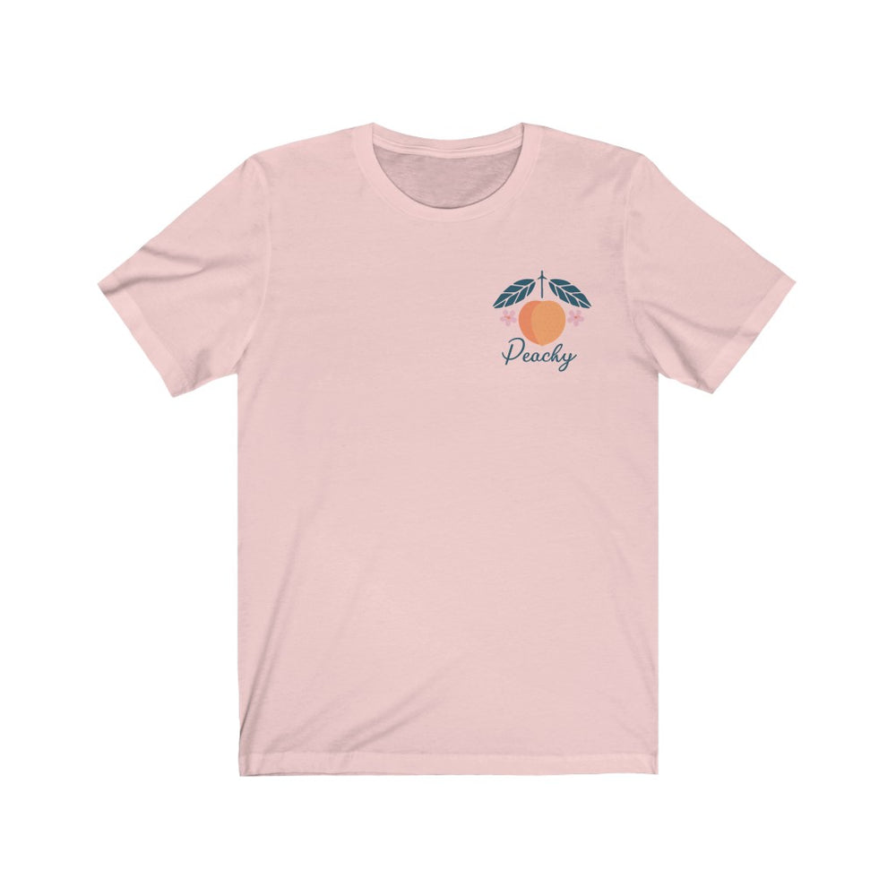 (Soft Unisex Bella) Peachy Corner Fake Pocket