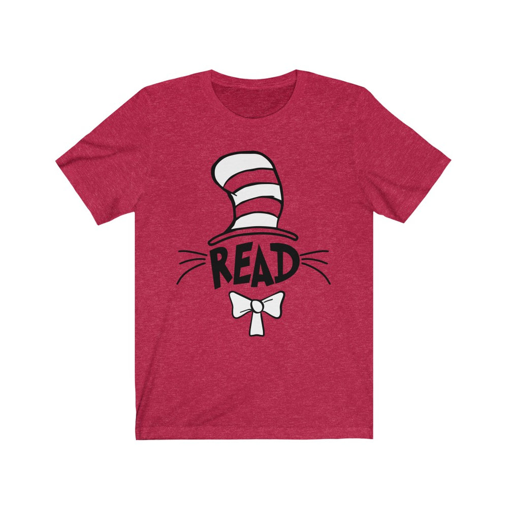 (Soft Unisex Bella) Cat Read Hat Parody