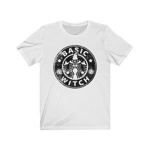 (Soft Unisex Bella) Basic Witch (black)