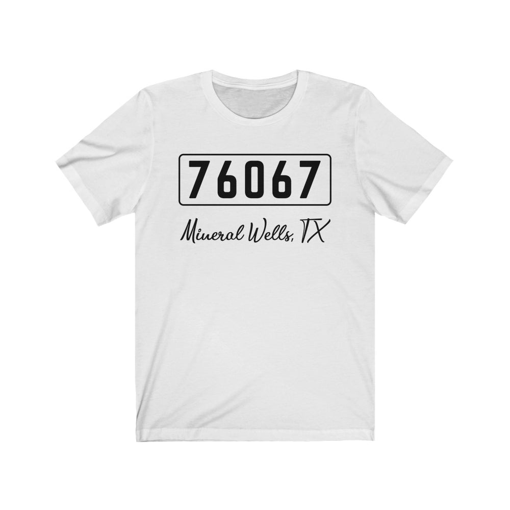 (Soft Unisex Bella) Zipcode City Name - Mineral Wells, TX 76067